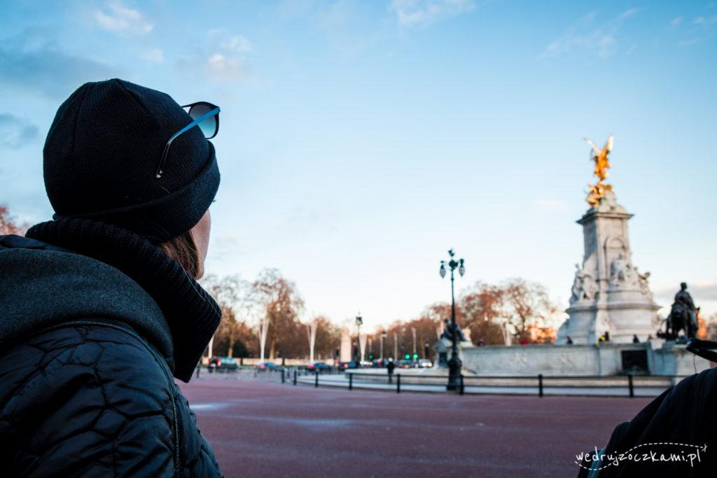 Pomnik Wiktorii przed Pałacem Buckingham