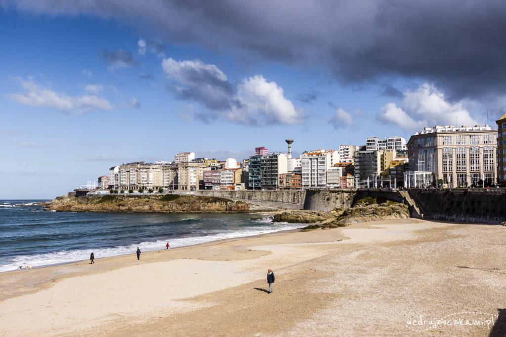 Plaża Riazor Orzan, A Coruna