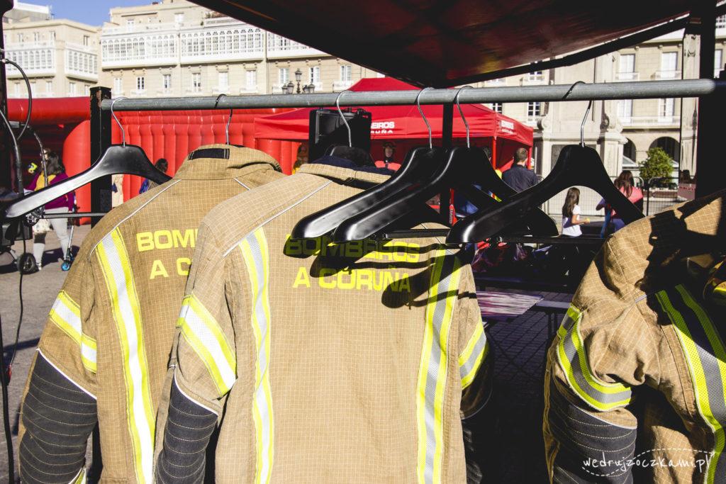 Festyn Bombeiros, czyli straży pożarnej - trochę pokazówka, ale z fajnymi atrakcjami dla dzieci