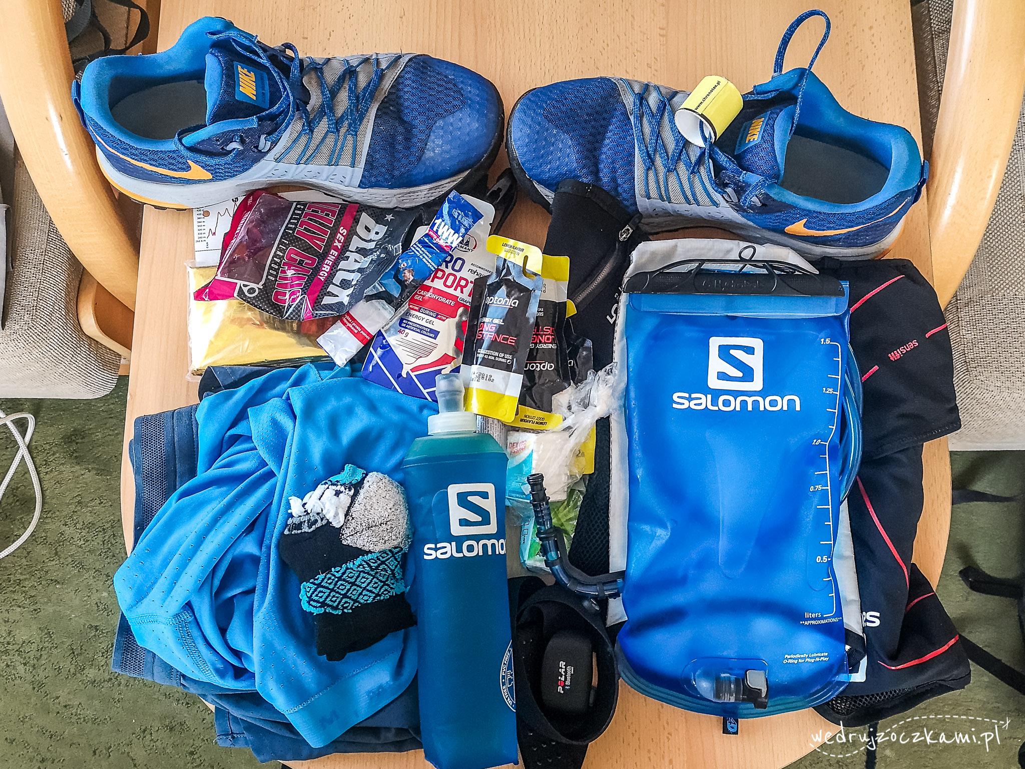 Sprzęt na pierwszy ultramaraton