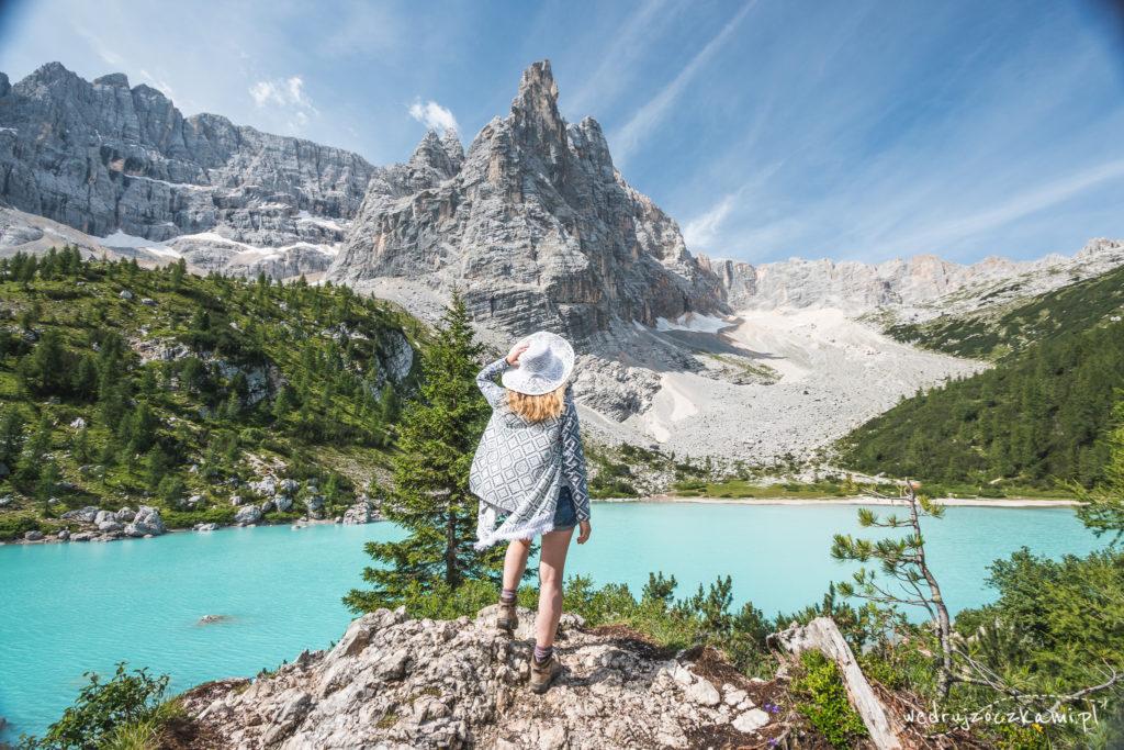 Lago Di Sorapis tak nas oczarowało, że większość zdjęć mamy tylko z tego miejsca. ;)