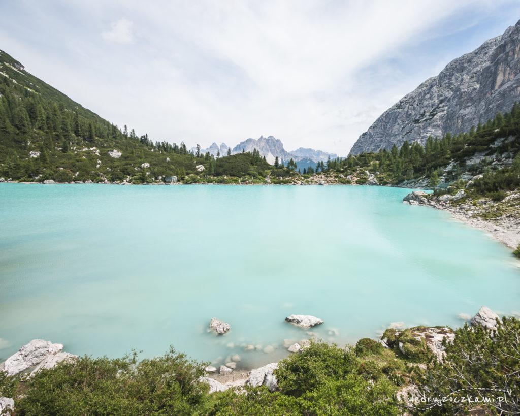 Lago di Sorapis z drugiej strony. ;)