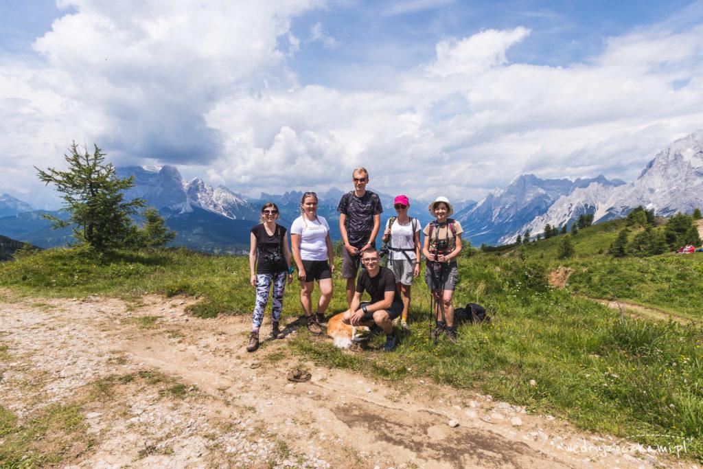 Wycieczka w pełnym składzie na szczycie Monte Rite