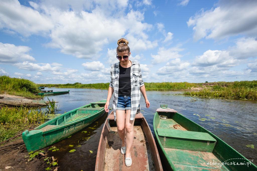 Asiula w łódce